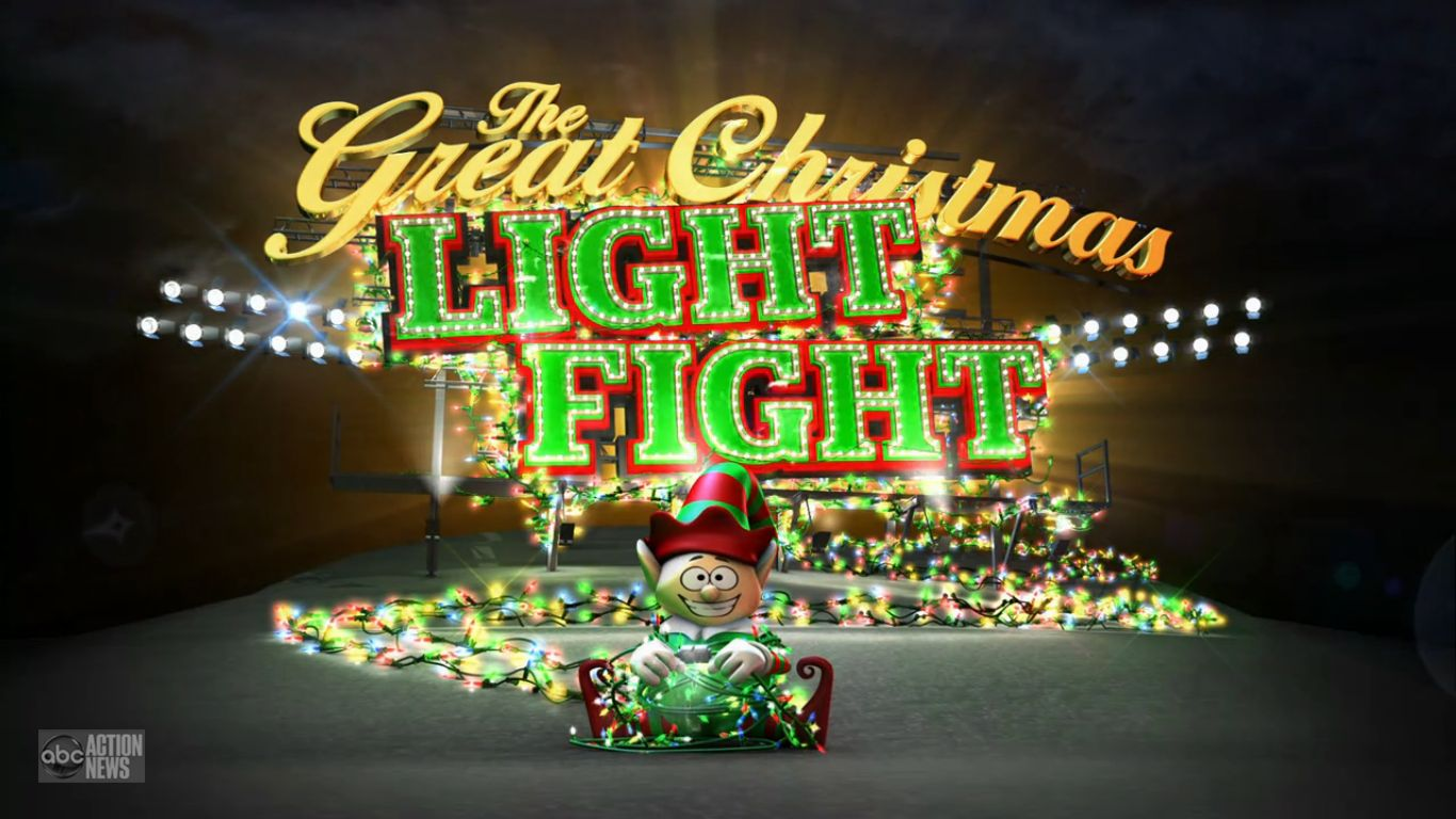The Great Christmas Light Fight - Christmas Specials Wiki