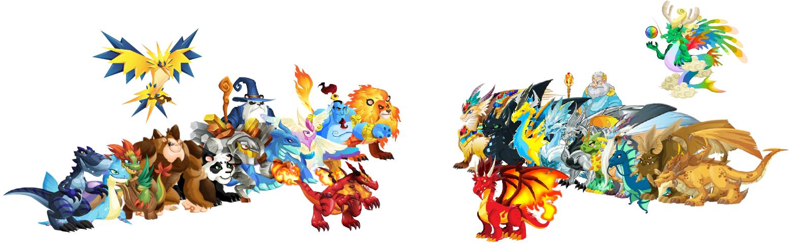 dragon city vs monster legends
