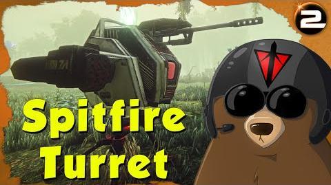 Planetside 2 PTS ► Spitfire Auto-Turret (Player Test Server)