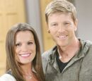 Billy Abbott and Chelsea Lawson