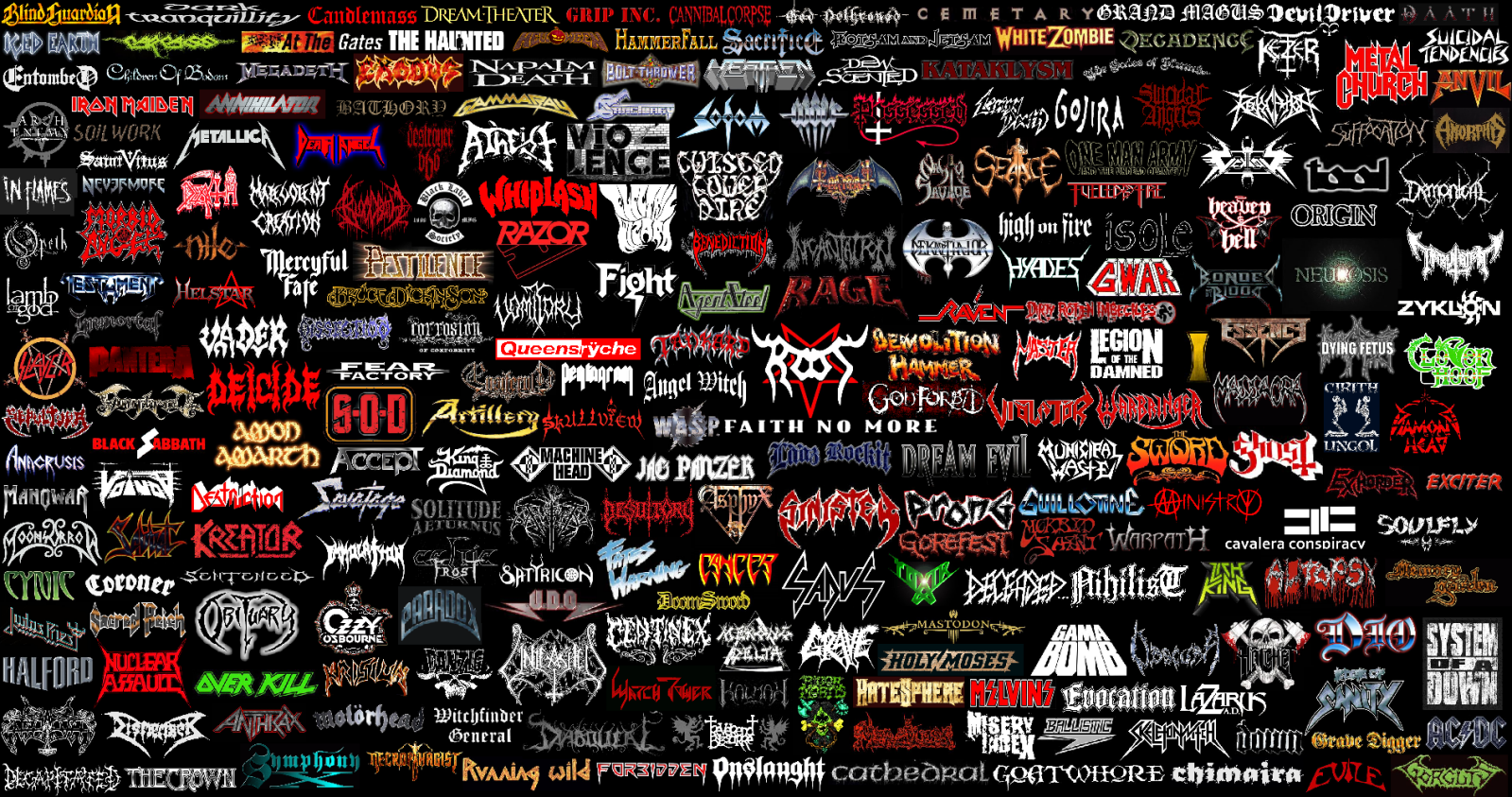 Metal Bands That Start With The Letter Y