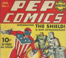 Pep Comics Vol 1