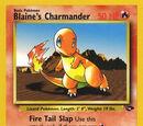 Blaine's Charmander (Gym Challenge TCG)