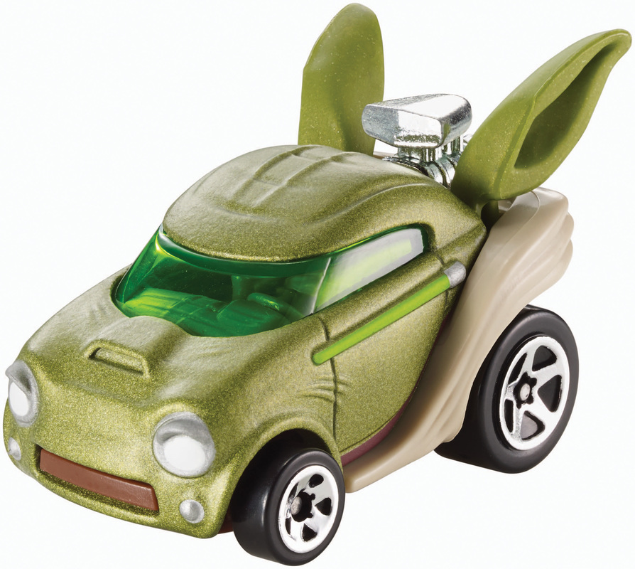 Star Wars Character Cars