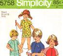 Simplicity 5758 B