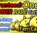 Guaranteed Uber Rare Cat campaign