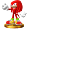 Knuckles trophy pose (Super Smash Bros. Wii U).png