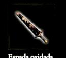 Espada oxidada