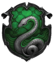 salle commune des Serpentards/Slytherin Common room Blason_de_Serpentard