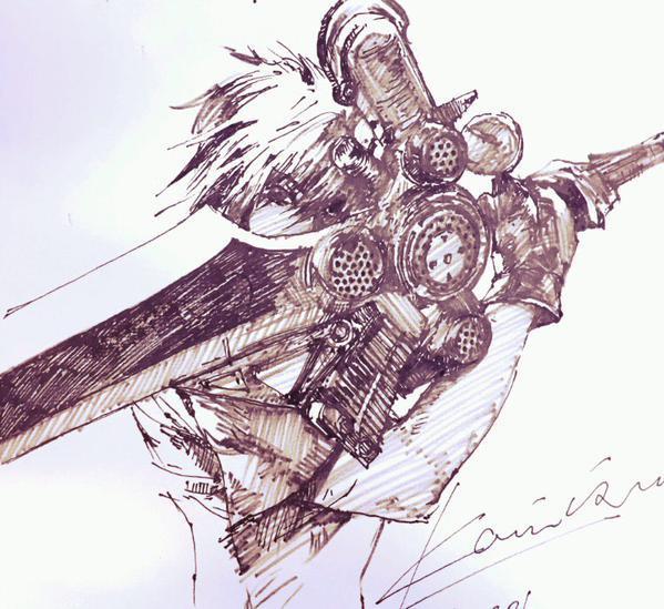 Noctis Isamu Kamikokuryo Sketches | 599 x 549 jpeg 62kB