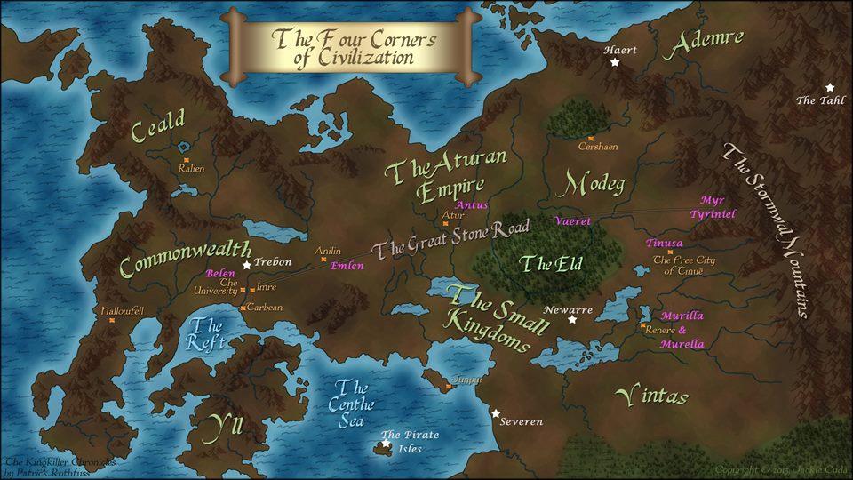 """""""¿Cómo está el camino de Tinuë?"""" Mapa, moneda y calendario 10885560_10154985329760596_4985919684511786807_n"""