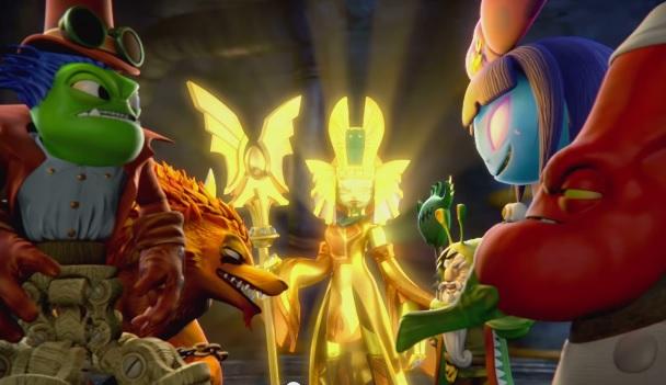 Golden Queen - Portal Masters of Skylands unite!