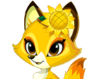 Sunflower Fox