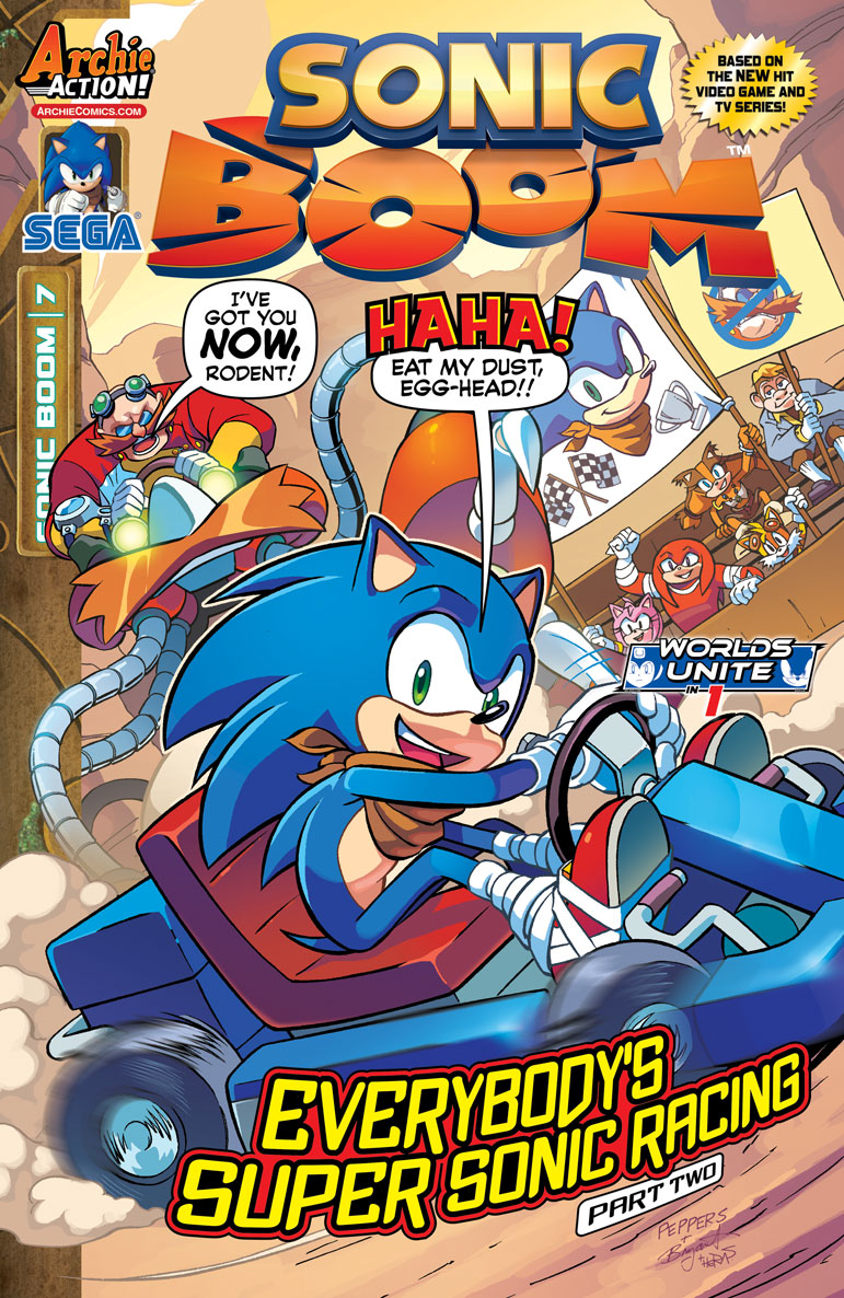 archie sonic boom issue 7