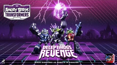 Angry Birds Transformers: Deceptihogs Revenge