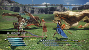 FFXIII Three Way Battle