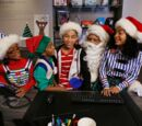 Black Santa/White Christmas
