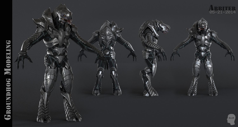 Яблочко Halo arbiter armor