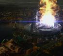 Explosion des Teilchenbeschleunigers