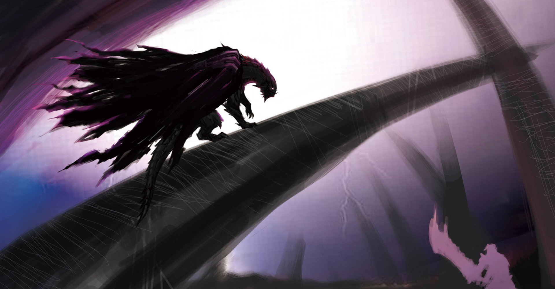 Image Mh4u Gore Magala Concept Art The Monster