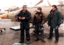 007- Dickey Beer on-set of Tomorrow Never Dies with stunt doubles.jpg