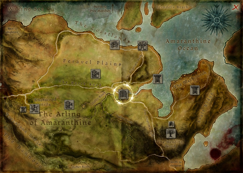 No Spoilers]Searchable map of Thedas : dragonage on
