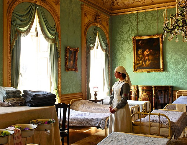 Drawing Room Downton Abbey Wiki
