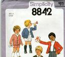 Simplicity 8842 A