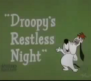 Droopy's Restless Night