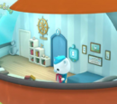 Captain Barnacles's room