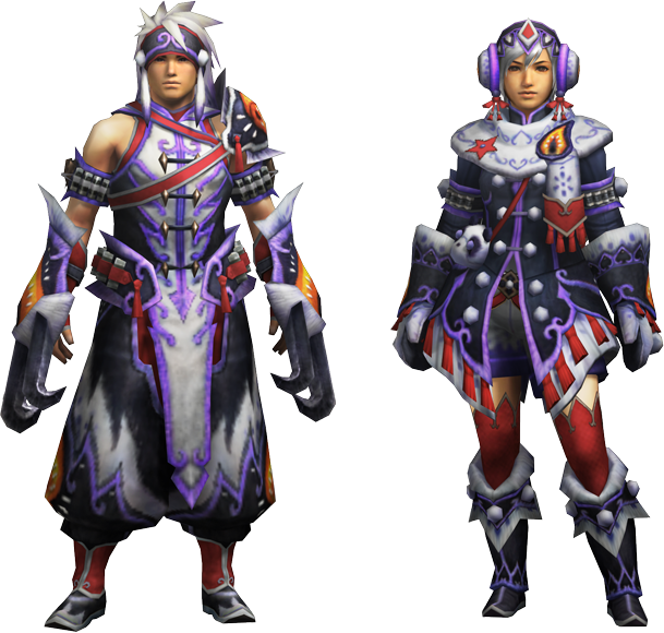 Empress Armor Mh4u Mh4u-kecha z Armor Gunner