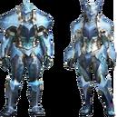 MH4U-Zamtrios Armor (Blademaster) Render 001.png
