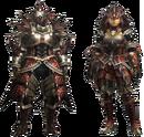 MH4U-EX Rathalos Armor (Blademaster) Render 001.png