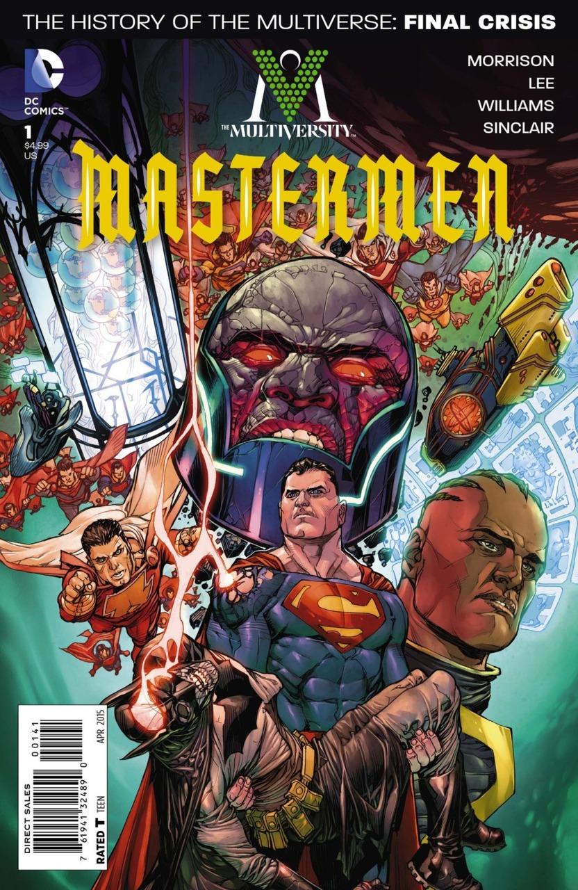 The Multiversity: Mastermen Vol 1 1 - DC Comics Database