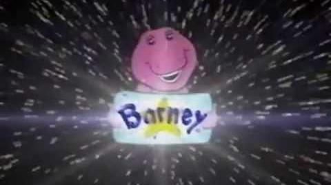 Barney Home Video Logo (1992 - Present)