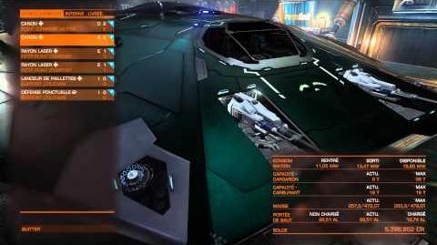 Elite Dangerous Présentation Cobra MK3