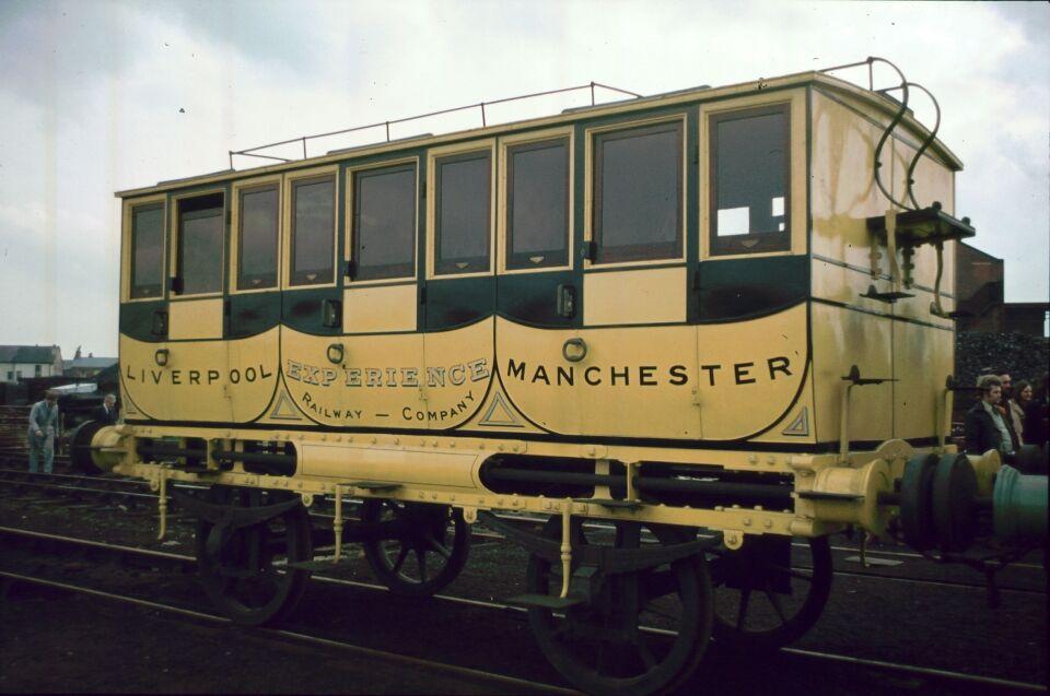 ソドー・アンド・メインランド鉄道の客車のモデル車