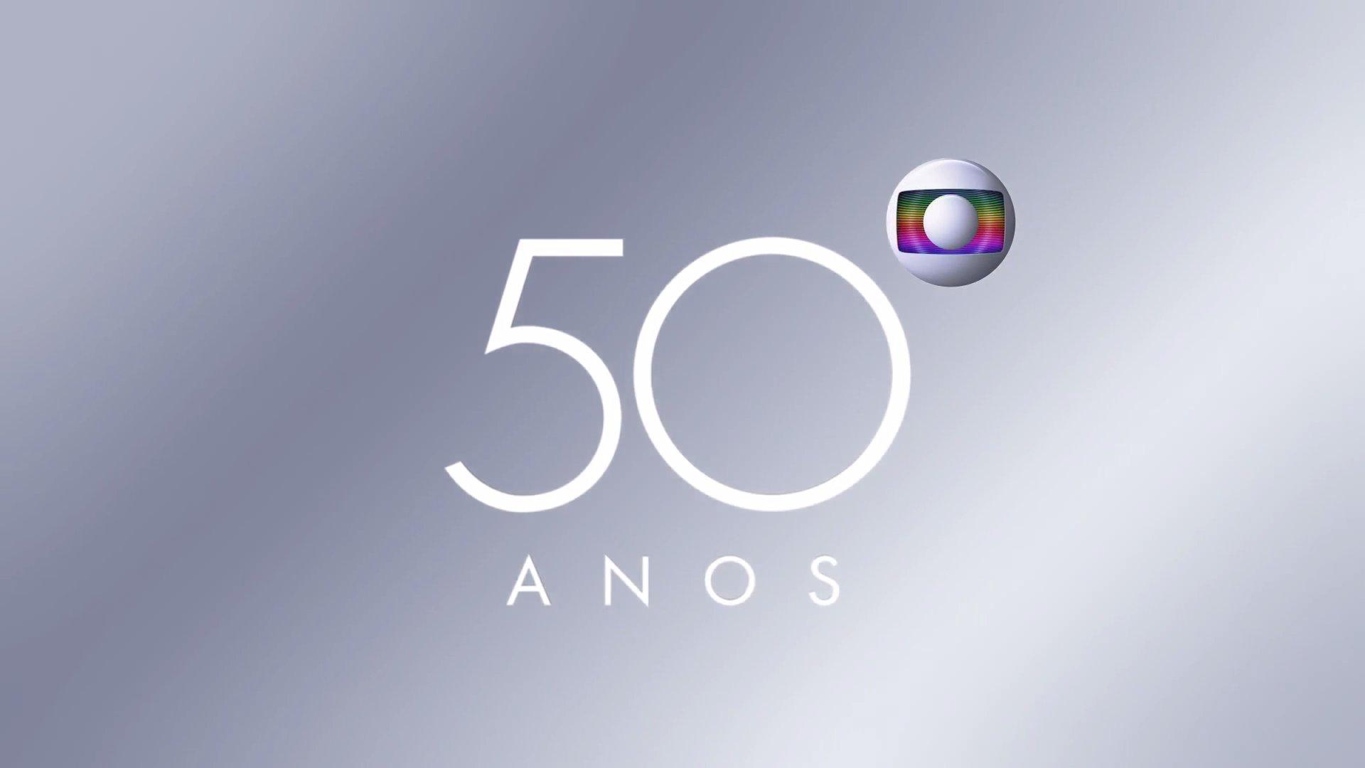 F clube oficial rede globo globo 50 anos saiba tudo o - Globos 50 anos ...