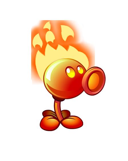 Plants Vs Zombies Hacked >> Fire Peashooter/Gallery - Plants vs. Zombies Wiki, the free Plants vs. Zombies encyclopedia