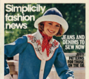 Simplicity Fashion News March 1974