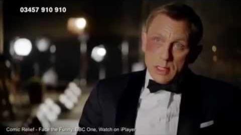 Daniel Craig reveals REAL voice in Comic Relief spoof