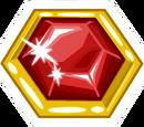 Ruby Brooch Pin