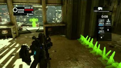 Gears of War 3 - Horde Mode - Waves 1 to 50 - Part 5