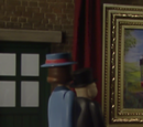 Percy and the Oil Painting
