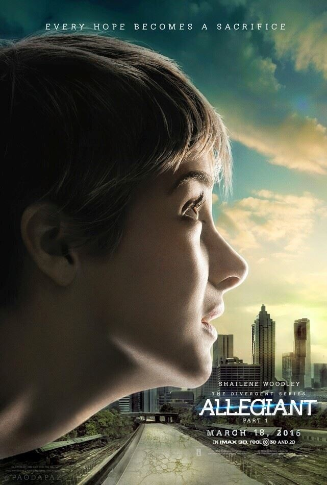 User blog:Big Brother 99/Allegiant Fan made posters ...