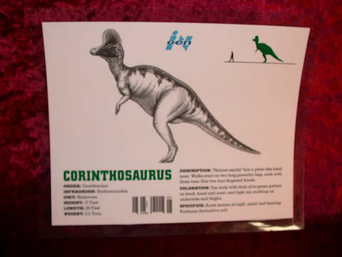 that Corythosaurus was planned to be in The Lost World  Jurassic Park    Jurassic Park Corythosaurus