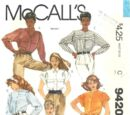 McCall's 9420 B