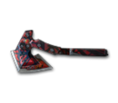 BC-Axe Red Spider Web