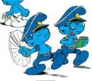 The Smurfs Police Force