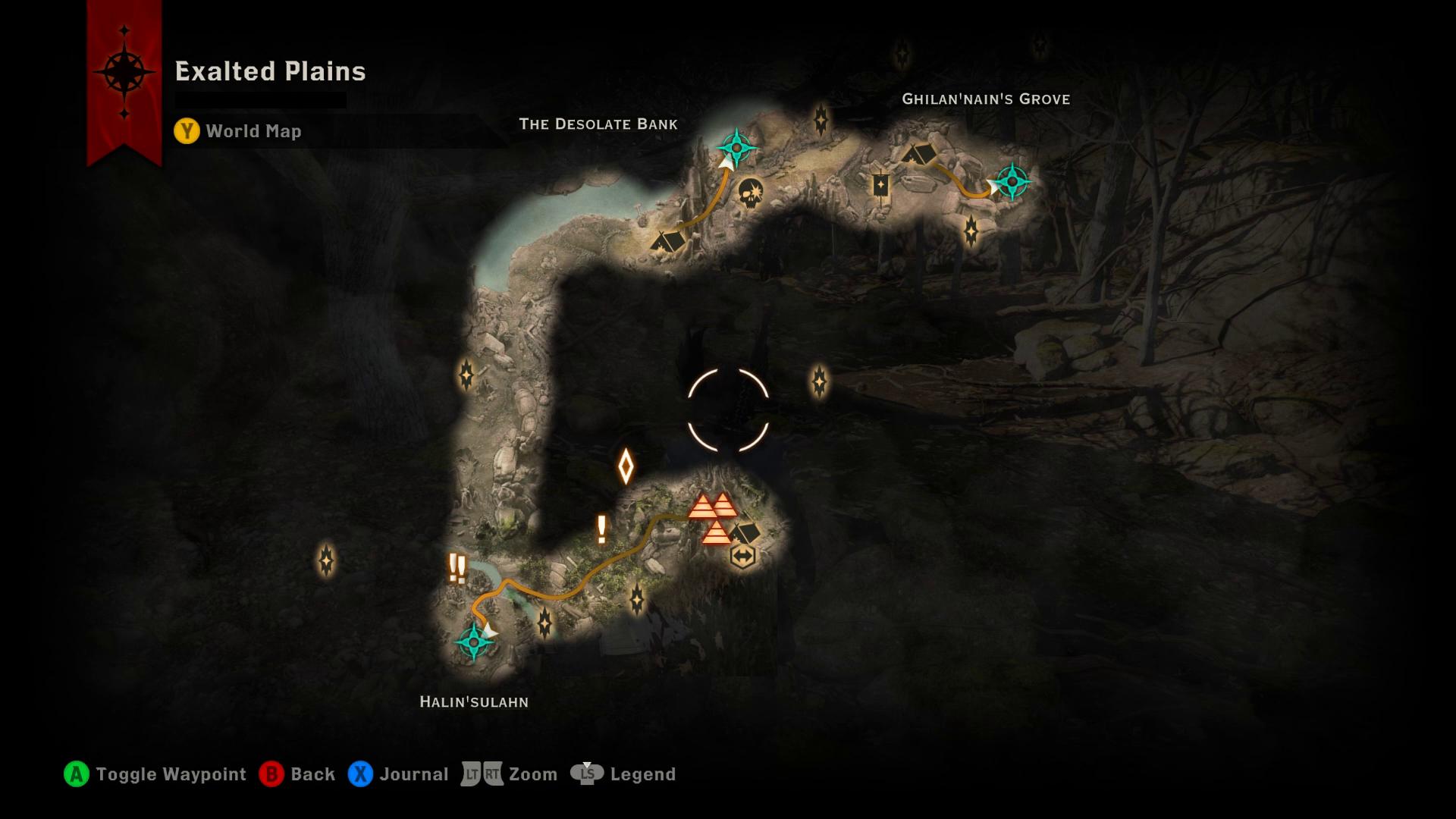DAI Spoilers] PSA: Way of the Champion map : dragonage